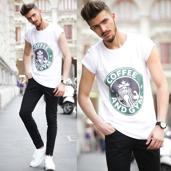 Gian Maria Sainato - Dead Legacy, H&M, Asics Tiger - STARBUCKS - COFEE AND GYM