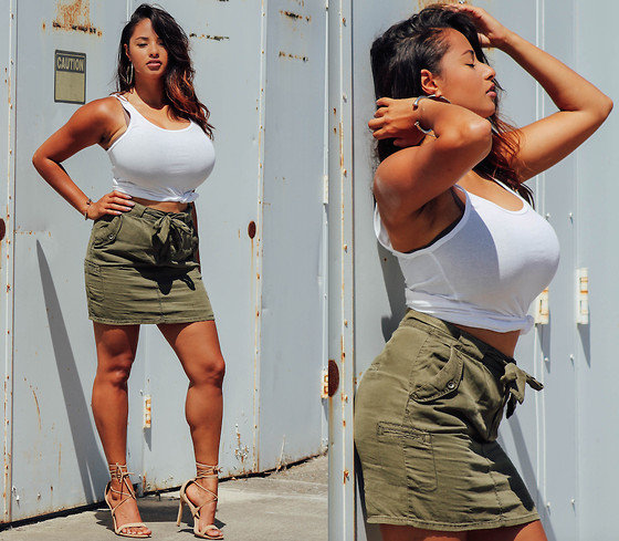 Mercedes Marie -  - Military Chic