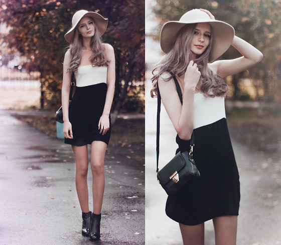 Mary Volkova - Vintage Hat, Dressin Dress, Http://Www.Wholesalebuying.Com Bag - Vintage