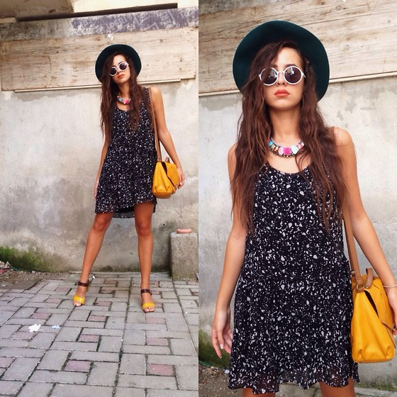 Fransi - Mango Dress, H&M Bag, Koan Hat - Casualy