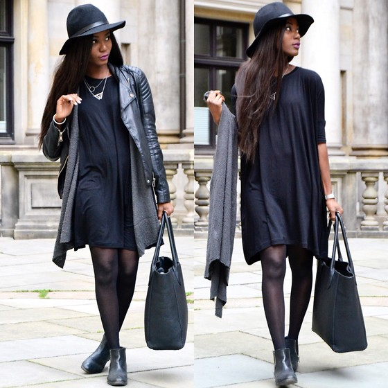 Emma Brown - Asos Dress - Black autumn Look