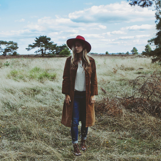 Jamie L ♡ - H&M Hat, The Sting Top, Pepe Jeans, Melvin & Hamilton Boots - SOME DAY WHEN YOU LEAVE ME, I BET THESE MEMORIES FOLLOW YOU