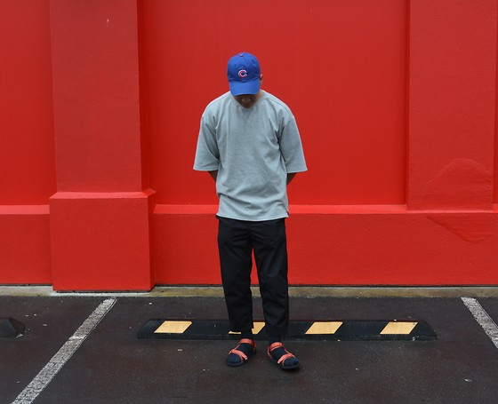 Miguel Valero - Aland Oversized Sweater, Teva Sandals, I Love Ugly Kobe Pant - Teva Sandals