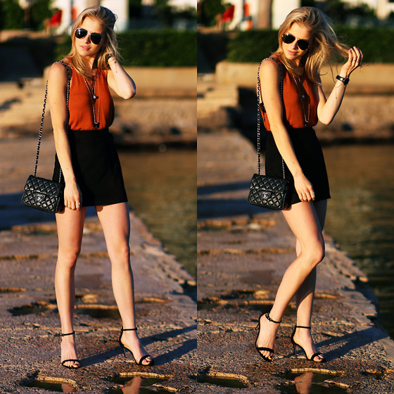 Caro Daur - Asos Shoes, Chanel Bag, Ray Ban Sunnies - Sun is up