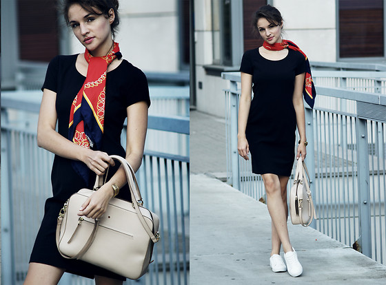 Ceci Bloom - Pennyblack Dress, Batycki Bag, Even&Odd Shoes - Summer throwback