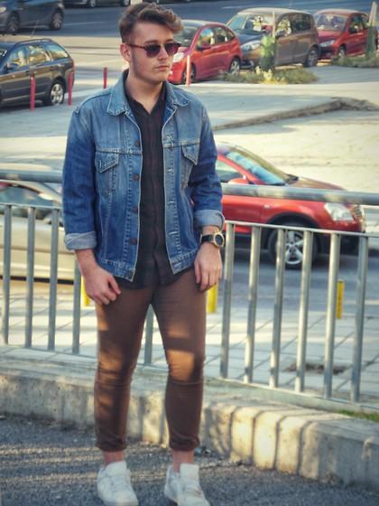 Tsougass Nick Pull & Bear Plaid Shirt, Dstld Premium Denim