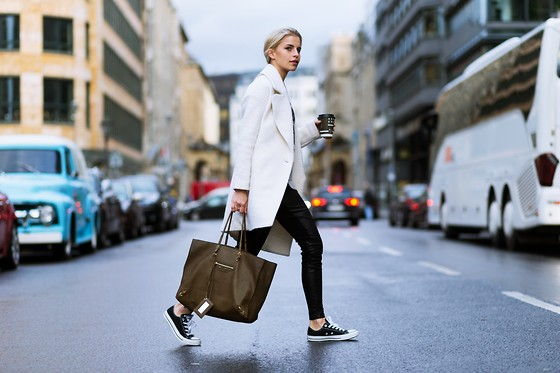 Caro Daur - Converse Shoes, Balenciaga Bag, Asos Coat - Berlin