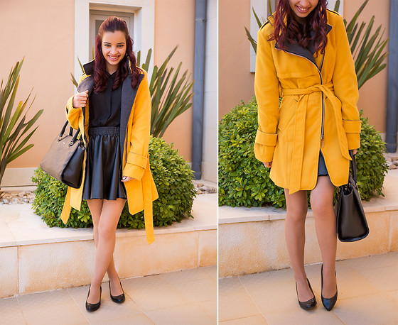 Cátia Dionísio - Dresslink Yellow Coat - Yellow coat