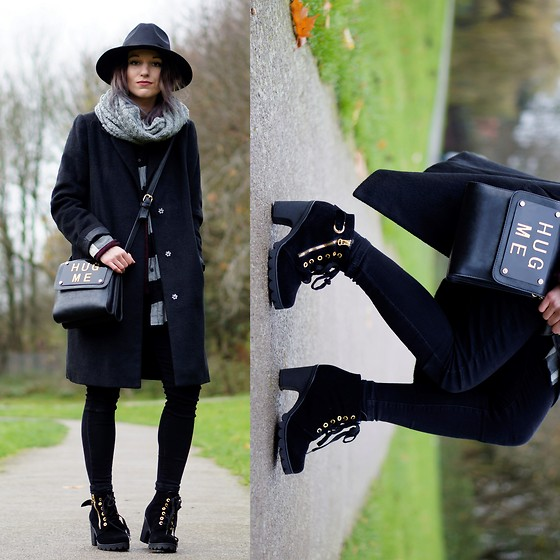 Agata P - Tomtop Hug Me Bag, Cndirect Boots, Primark Coat - You Should Go And Love Yourself