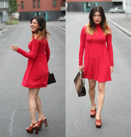 Lea Zeitman - Guess Dress - I SAY RED!