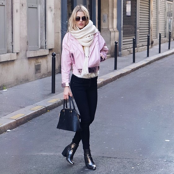 Meryl Denis - Jacket, Abercrombie & Fitch Jean, Primark Shoes, Sheinside Bag - PFW