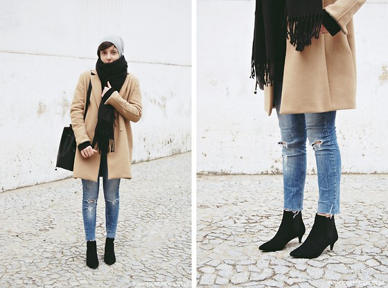 Maria Marques -  - Camel Coat & Kitten Heels