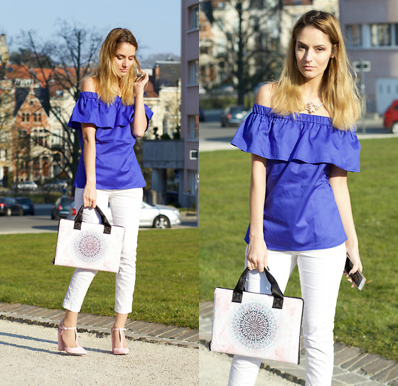 Ruxandra Ioana - Marie& Frisco Top, Rings& Tings Necklace, Snupped Laptop Sleeve - A day in the park