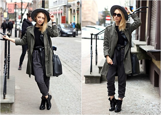 Emilia Błaszczyk - Lasocki Shoes, H&M Bag, Second Hand Jacket - Street Style