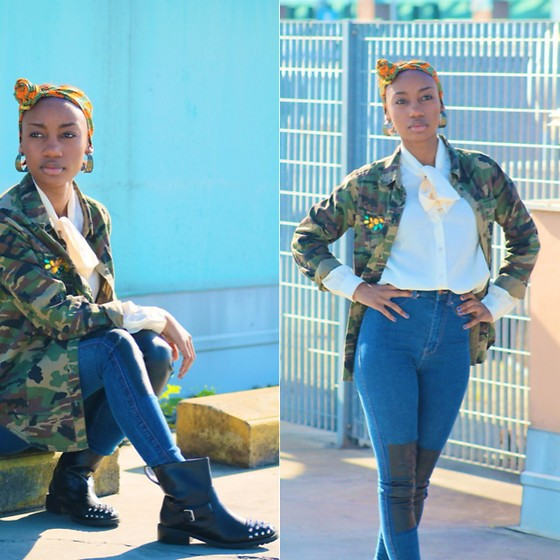 Blanche Bettina K. -  - How To Style The Camo Trend 1