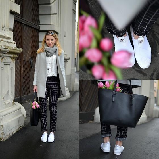 Jessica N. Adidas Sneaker Super Slip Ons, Deichmann Bag