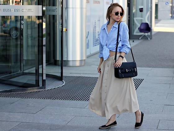 Emilia Błaszczyk - Mango Bag, Ray Ban Sunglasses - #Secondhand Style