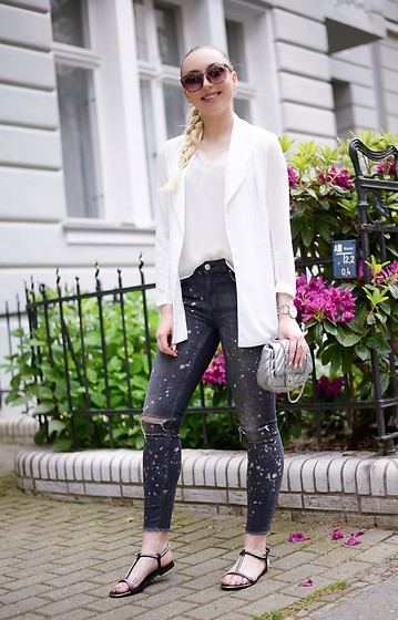 Vanessa Kandzia - Zara Skinny Jeans, Zara Bag, Zara Shoes - THE STRUGGLE OF FINDING THE PERFECT SUMMER SHOES