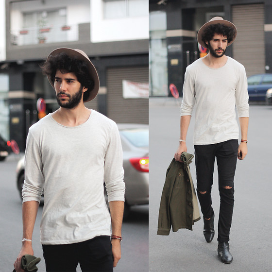 Khalil Zdaa - Zara Jeans - Hat & Beard - THE ZDAA
