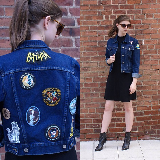 Tracie Marie -  - Patched Denim Jacket