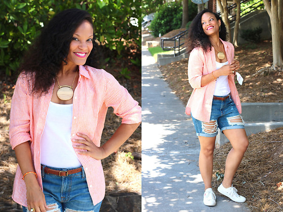 Johnnalynn Lynch -  - Linen and Distressed Denim