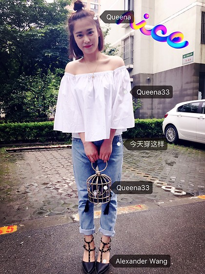Queena Zhou - Queena33 Off Shoulder - OFF Shoulder