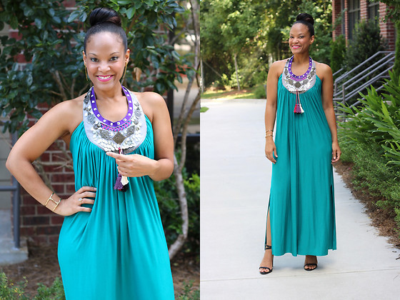 Johnnalynn Lynch -  - Embellished Maxi Dress
