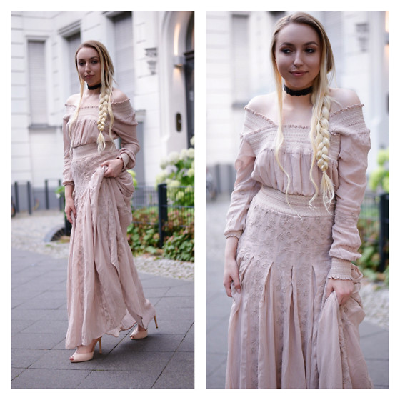 Vanessa Kandzia - H&M Maxi Dress - WHAT TO WEAR FOR A SUMMER WEDDING