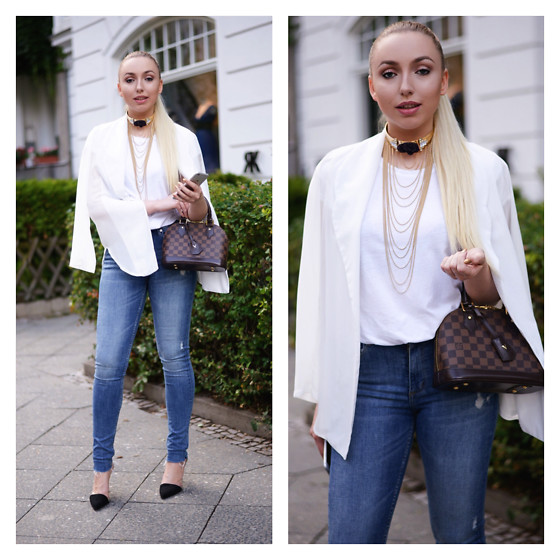 Vanessa Kandzia - Blazer, Choker - THE STATEMENT PIECE TO ADD TO ANY SIMPLE OUTFIT