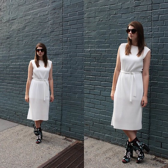 Tracie Marie - Topshop White Dress, Rebecca Minkoff Boots - You Can't Always Get What You Want
