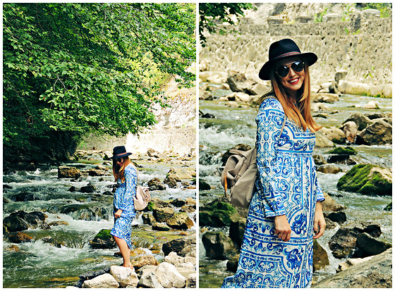 Daniela Macsim - C&A Hat, Clockhouse Sunnies, Rena Bag - Weekend escape