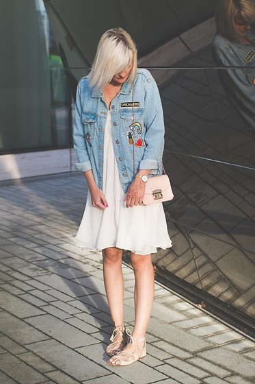Fashionargument Jeansjacke Mit Patches Lookbook