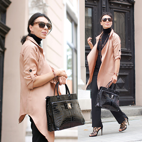 Minimalissmo .. - Zaful Trench, Sammydress Bag - My favourite autumn cape