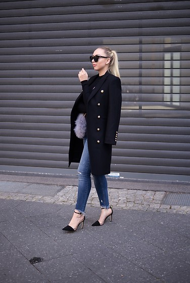 Vanessa Kandzia - Zara Coat - FALL MUST HAVE 2016: LONG CROSSOVER COAT