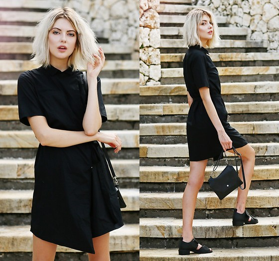 Ebba Zingmark - Monki Dress, Shellys London Shoes, Monki Bag - I've been thinking bout you