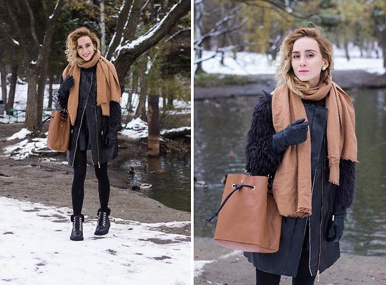 Maria Pokrovskaya -  - Winter look