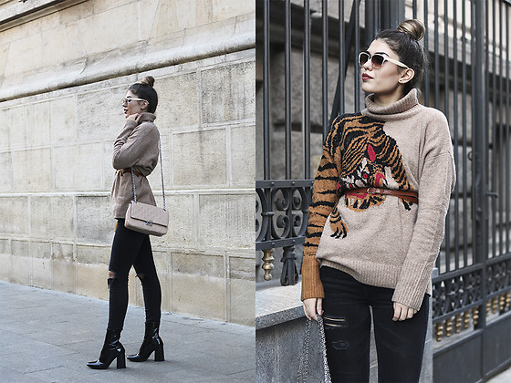 Diana Ior - H&M Jumper, H&M Ripped Jeans, Zara Boots - Wild Matters