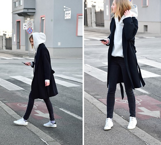 Katarina Vidd - All Items On My Blog, Adidas Stan Smith - Hoodie.