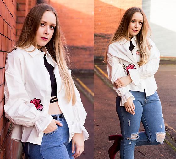 Tiffany Wang - Everlane Oxfords, Everlane Cocoon Coat, H&M