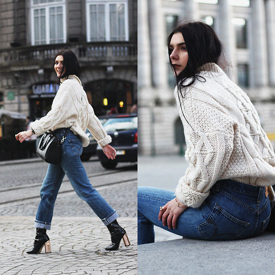 CLAUDIA Holynights - Na Kd Vintage 501 Jeans - Vintage Levi's 501