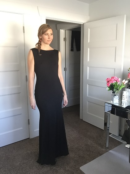 Cindy Batchelor - Amazon Black Sleeveless Gown - Black Sleeveless gown