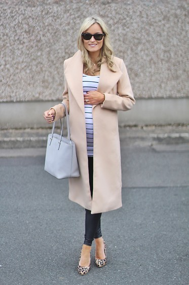 Martina Reynolds - Romwe, Hm, Primark Leopard Print Shoes - Nothing but neutral