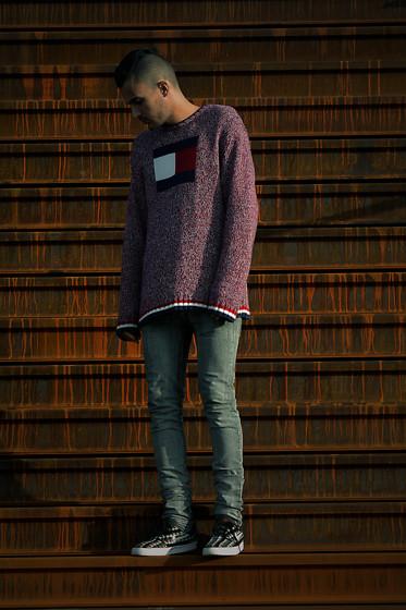 Mohamed Samaras Tommy Hilfiger Sweat Shirt With Cotton