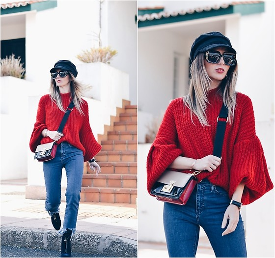 Ma Petite By Ana - Stradivarius Sweater - Lady in Red