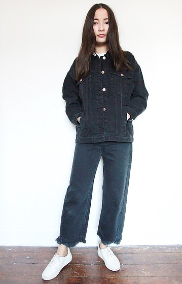 Yuhan Zhang - Monki Denim Jacket, Zara Jeans - COW GIRL