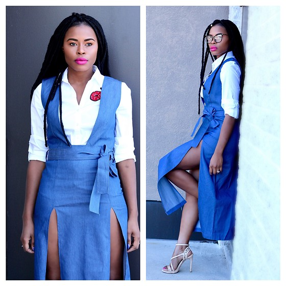 TOMGFASHION COM - Zaful Denim Dress - Denim Dress