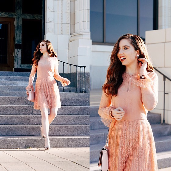 The Indie Girl Fleming - Zaful Pink Dress From - PINK SUNDAY