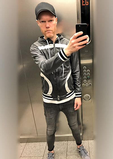 Thomas H. - Asos Super Skinny, Barcode Berlin Jacket - Elevator Coolness