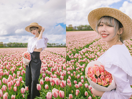 Kennie Cheng -  - Tip toe through tulips with me