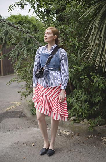 Eva Velt - Vintage Dress, Sunnies, Laauw Bag, Sandals